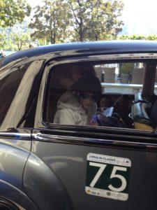 Raduno di auto d'epoca