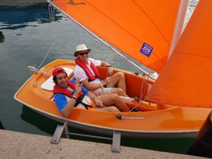 Giro in barca a vela