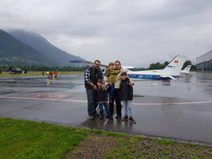Giornata di volo