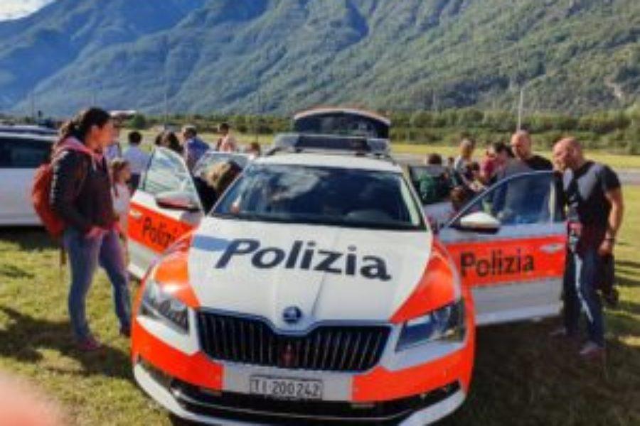 Le porte aperte della Polizia cantonale