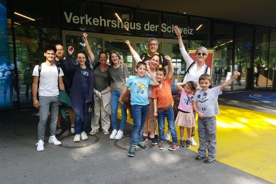 Visita al Museo dei Trasporti (Verkehrshaus) a Lucerna