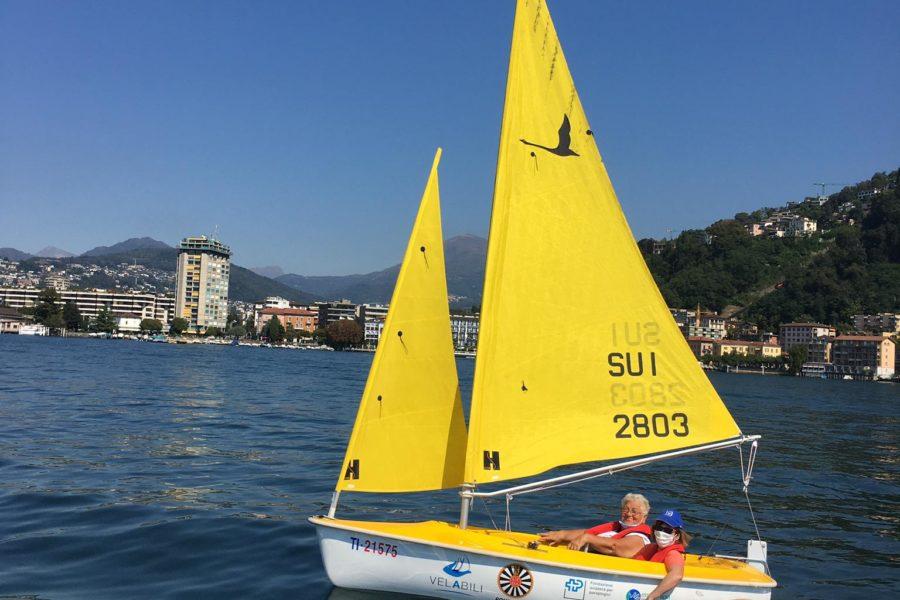 Giro in barca vela